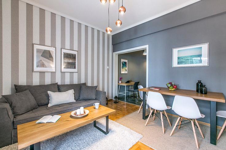 1 bedroom furnished apartment in Alios I 376, Vasilissis Sofias Avenue, Athens, photo 1