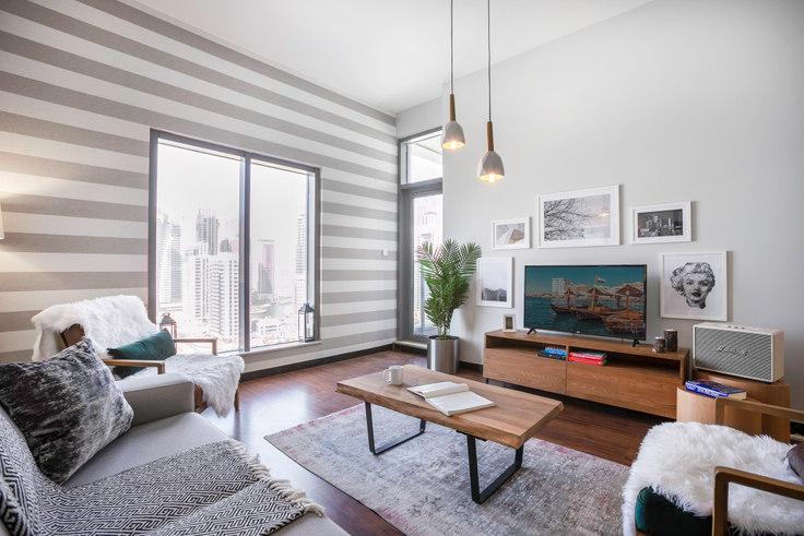 1 bedroom furnished apartment in Green Lakes Apartment I 128, Green Lake, Dubai, photo 1