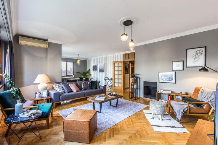4 bedroom furnished apartment in Alkent - 99 99, Etiler, Istanbul, photo 1