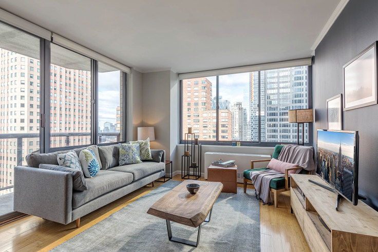 1 bedroom furnished apartment in The Ritz Plaza, 235 W 48th St 14, Midtown, New York, photo 1