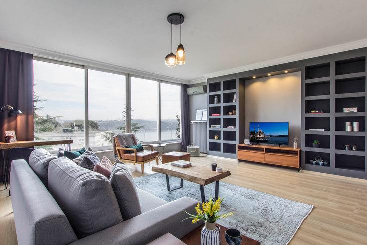 3 bedroom furnished apartment in Handan - 100 100, Etiler, Istanbul, photo 1