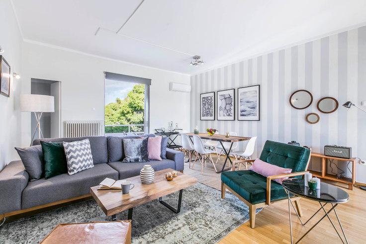 2 bedroom furnished apartment in Menandrou I 398, Kifisia, Athens, photo 1