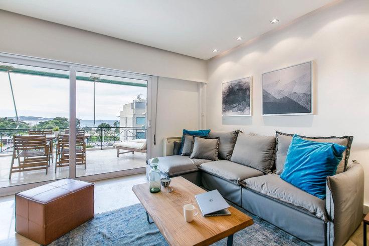 2 bedroom furnished apartment in Vasileos Pavlou III 407, Voula, Athens, photo 1