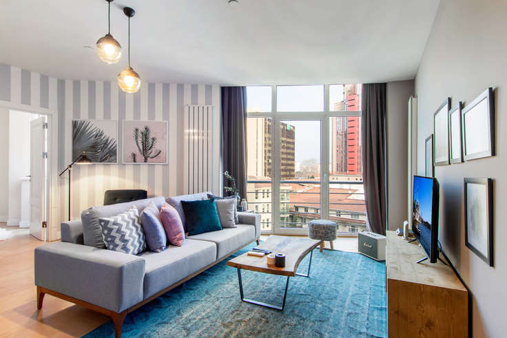 1 bedroom furnished apartment in Selenium Panorama - 116 116, Gayrettepe, Istanbul, photo 1