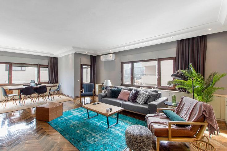 3 bedroom furnished apartment in Sedef - 117 117, Etiler, Istanbul, photo 1
