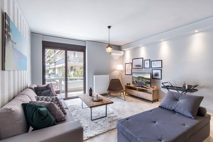 2 bedroom furnished apartment in Kifisias 411, Kifisia, Athens, photo 1