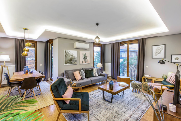 2 bedroom furnished apartment in Defne - 118 118, Etiler, Istanbul, photo 1