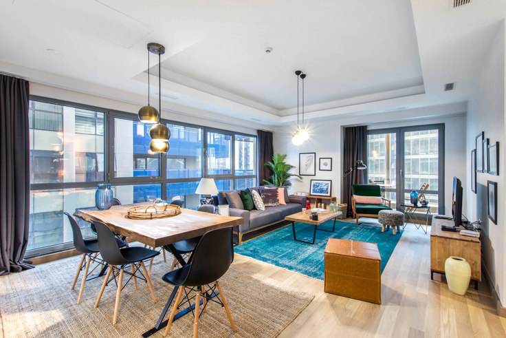 3 bedroom furnished apartment in Maslak 1453 - 123 123, Maslak, Istanbul, photo 1