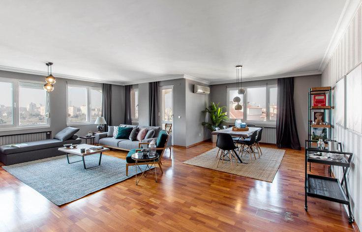 3 bedroom furnished apartment in Park Maya - 124 124, Akatlar, Istanbul, photo 1