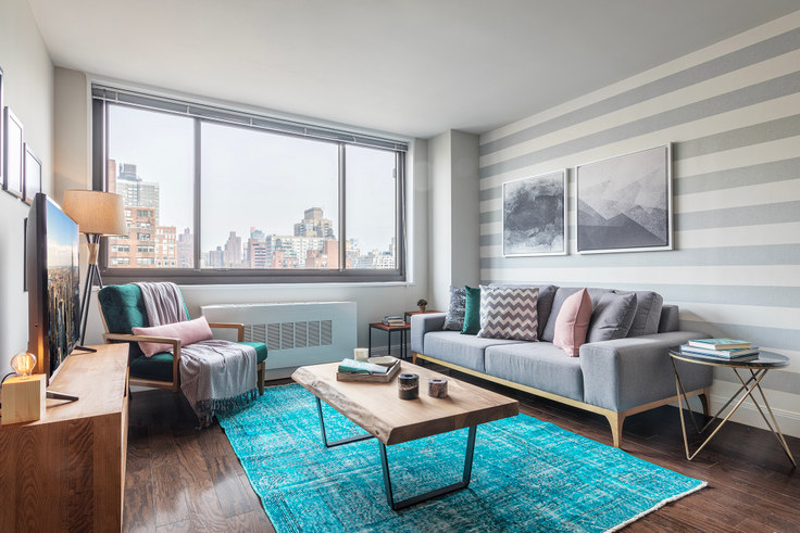 1 bedroom furnished apartment in Wimbledon, 200 E 82nd St 37, Upper East Side, New York, photo 1