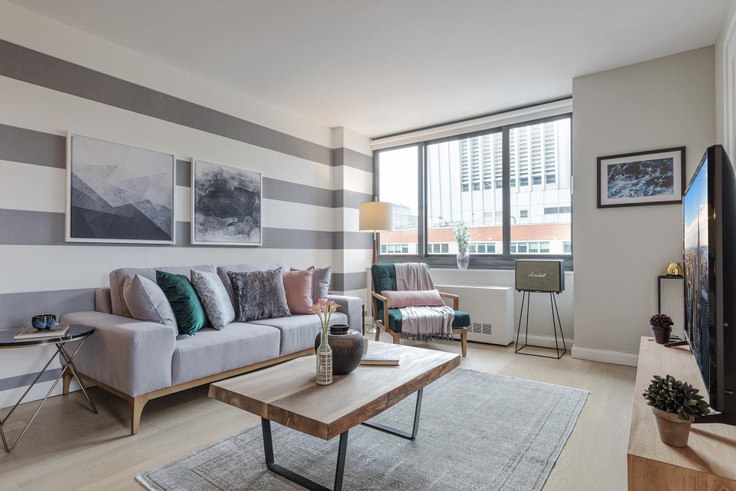 2 bedroom furnished apartment in Tribeca Tower, 105 Duane St 39, Tribeca, New York, photo 1