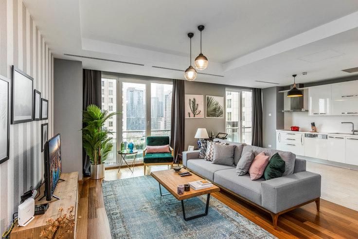 3 bedroom furnished apartment in Mashattan - 126 126, Maslak, Istanbul, photo 1