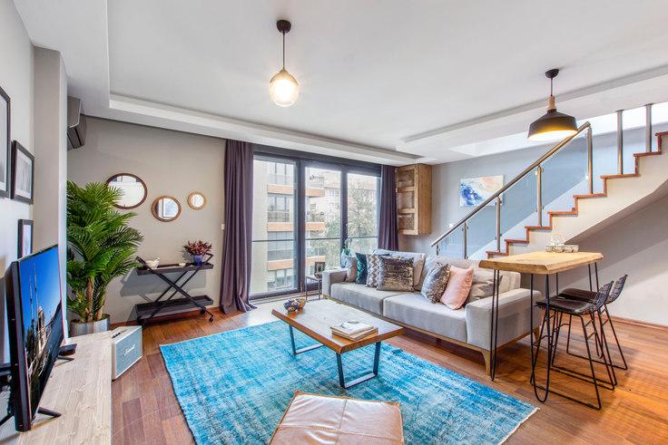2 bedroom furnished apartment in Çiçek - 128 128, Etiler, Istanbul, photo 1