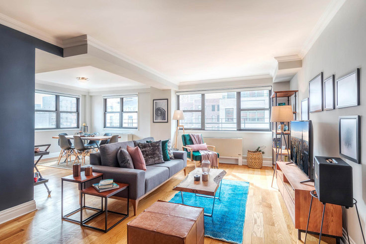 1 bedroom furnished apartment in Stonehenge 33, 141 E 33rd St 43, Kips Bay, New York, photo 1