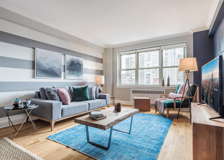 1 bedroom furnished apartment in 41 Park Ave 44, Murray Hill, New York, photo 1