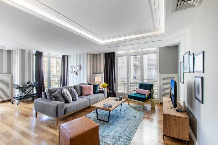 2 bedroom furnished apartment in Badur - 132 132, Etiler, Istanbul, photo 1