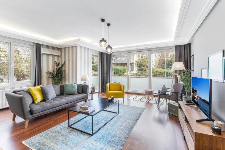 3 bedroom furnished apartment in Akdeniz - 133 133, Etiler, Istanbul, photo 1