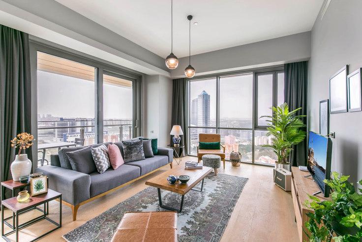 3 bedroom furnished apartment in Nidapark - 135 135, Huzur, Istanbul, photo 1