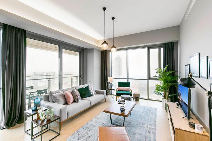 3 bedroom furnished apartment in Nidapark - 136 136, Huzur, Istanbul, photo 1