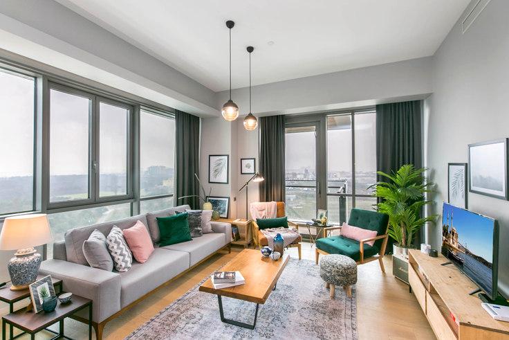 2 bedroom furnished apartment in Nidapark - 138 138, Huzur, Istanbul, photo 1