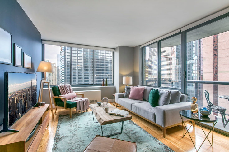 1 bedroom furnished apartment in The Ritz Plaza, 235 W 48th St 50, Midtown, New York, photo 1