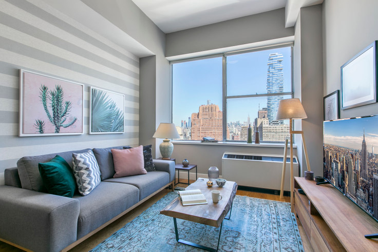 1 bedroom furnished apartment in 50 Murray Street 51, Tribeca, New York, photo 1