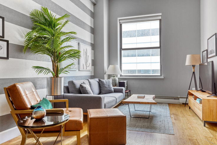 1 bedroom furnished apartment in 53 Park Pl 54, Tribeca, New York, photo 1