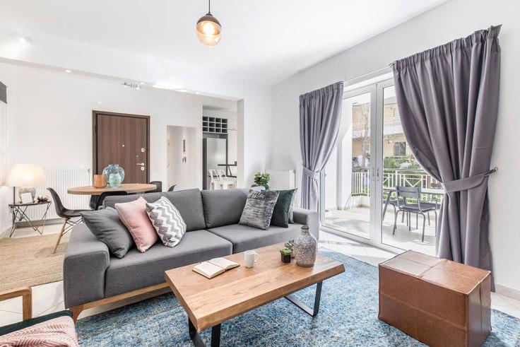 2 bedroom furnished apartment in Taigetou I 442, Kifisia, Athens, photo 1