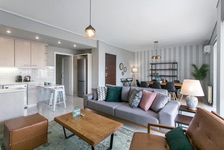 3 bedroom furnished apartment in Charilaou Trikoupi Ι 446, Glyfada, Athens, photo 1