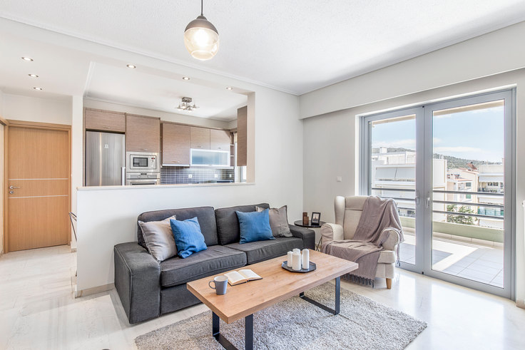 2 bedroom furnished apartment in Venezouelas I 448, Glyfada, Athens, photo 1