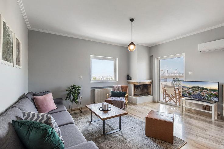 2 bedroom furnished apartment in Kitsou Tzavella 449, Agia Paraskevi, Athens, photo 1