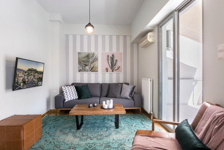 1 bedroom furnished apartment in Xenokratous III 450, Kolonaki, Athens, photo 1