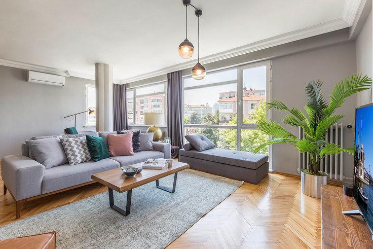 2 bedroom furnished apartment in Tam - 146 146, Akatlar, Istanbul, photo 1