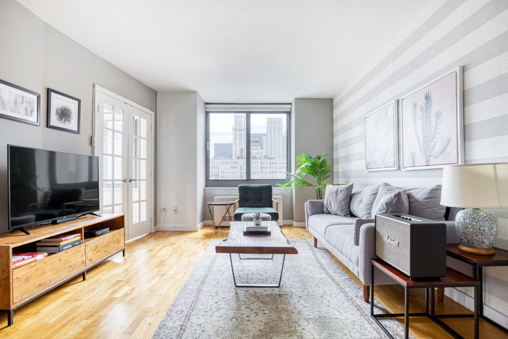 2 bedroom furnished apartment in Tribeca Tower, 105 Duane St 82, Tribeca, New York, photo 1
