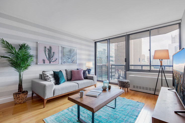 1 bedroom furnished apartment in The Ritz Plaza, 235 W 48th St 93, Midtown, New York, photo 1