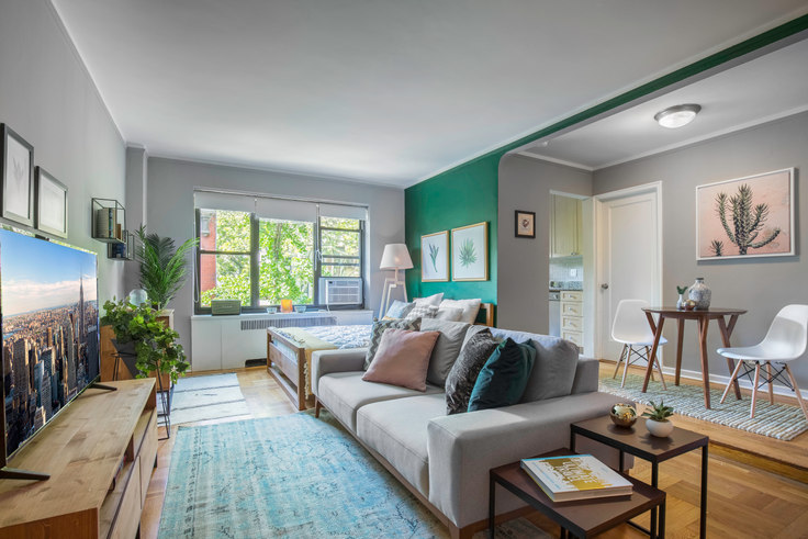 Studio furnished apartment in 10 Downing St 96, West Village, New York, photo 1