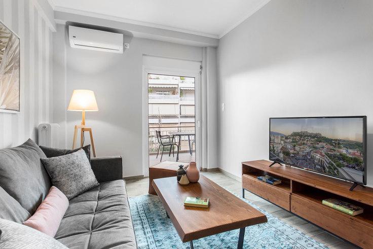 1 bedroom furnished apartment in Dimitsanas II 488, Marousi, Athens, photo 1