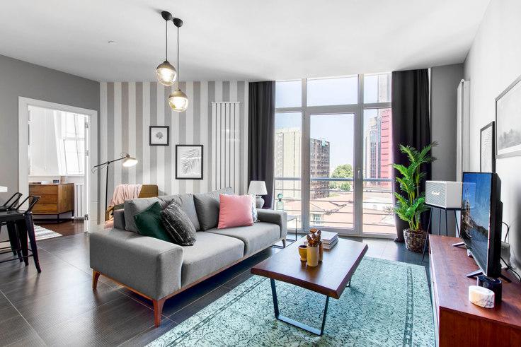 1 bedroom furnished apartment in Selenium Panorama - 155 155, Gayrettepe, Istanbul, photo 1