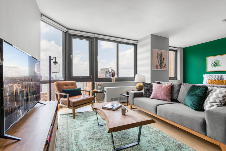 Studio furnished apartment in Tribeca Tower, 105 Duane St 109, Tribeca, New York, photo 1