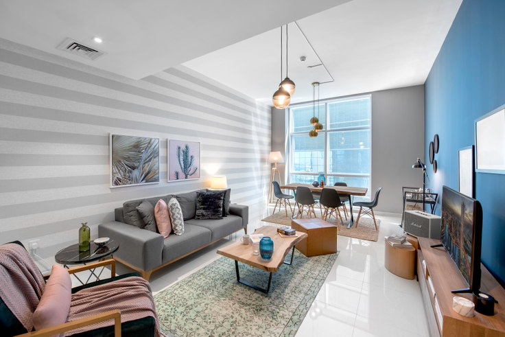 1 bedroom furnished apartment in Duja Apartment IX 255, Duja Tower, Dubai, photo 1