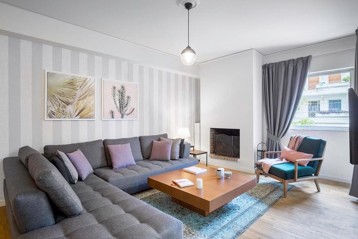 3 bedroom furnished apartment in Agias Filotheis 500, Marousi, Athens, photo 1