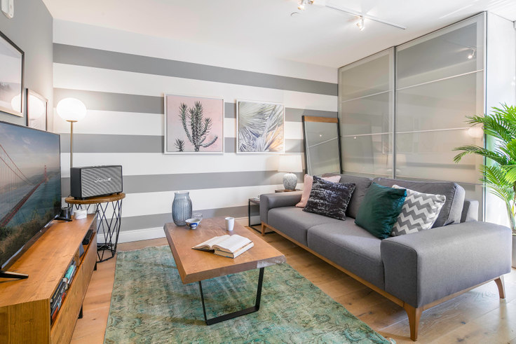 Studio furnished apartment in 246 Ritch St 15, South Park, San Francisco Bay Area, photo 1