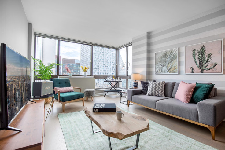 2 bedroom furnished apartment in The Westport, 500 W 56th St 125, Midtown West, New York, photo 1