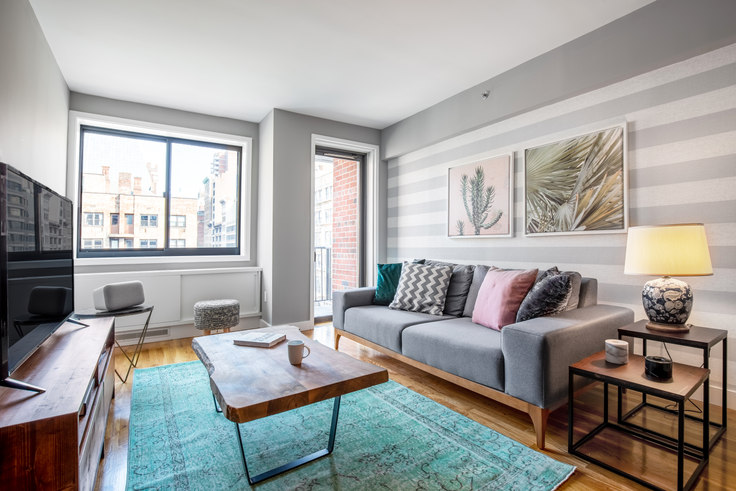 1 bedroom furnished apartment in 101W15, 101 W 15th St 136, Chelsea, New York, photo 1