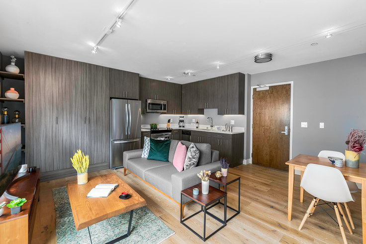 Studio furnished apartment in 246 Ritch St 31, South Park, San Francisco Bay Area, photo 1