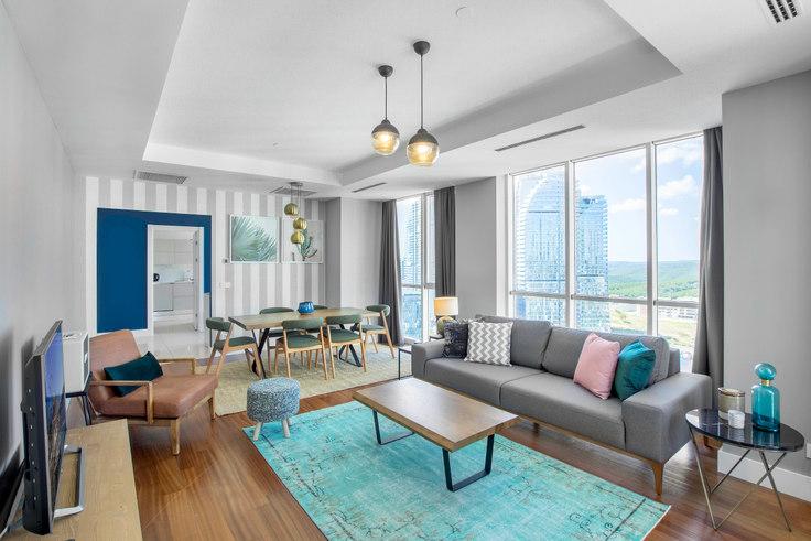 3 bedroom furnished apartment in Mashattan - 165 165, Maslak, Istanbul, photo 1
