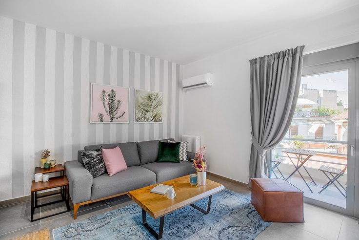 2 bedroom furnished apartment in Efforionos 515, Mets - Kallimarmaro, Athens, photo 1