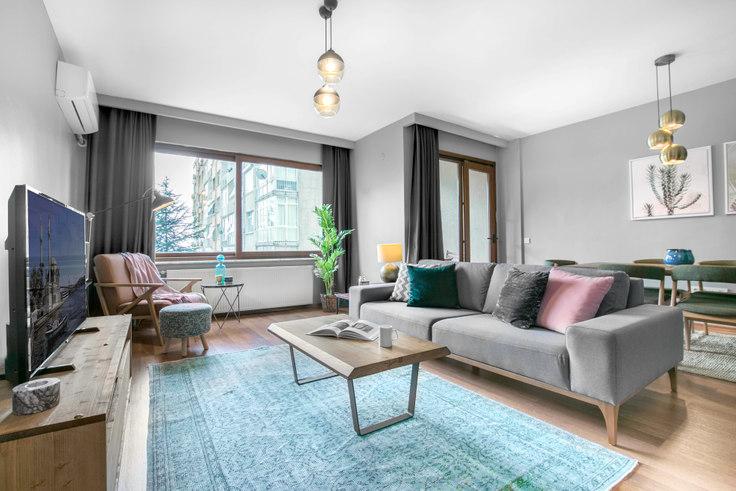 2 bedroom furnished apartment in Derya Konak - 169 169, Etiler, Istanbul, photo 1