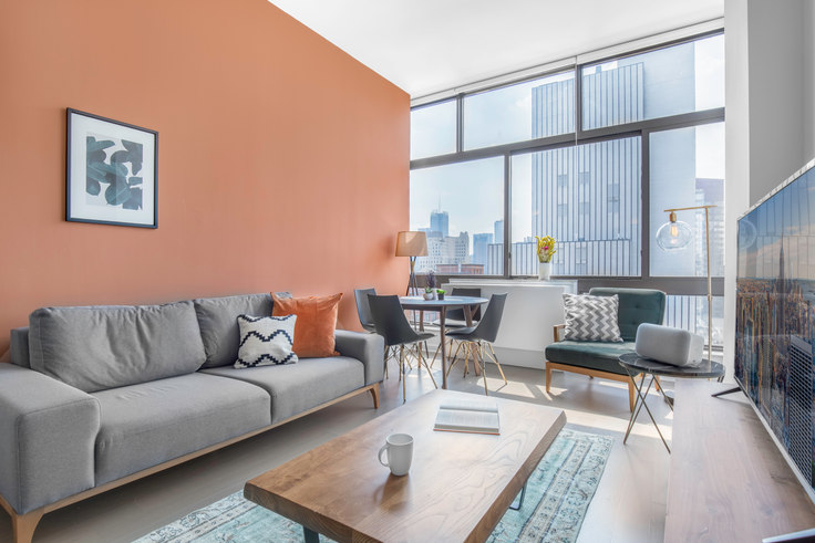 2 bedroom furnished apartment in The Westport, 500 W 56th St 147, Midtown West, New York, photo 1
