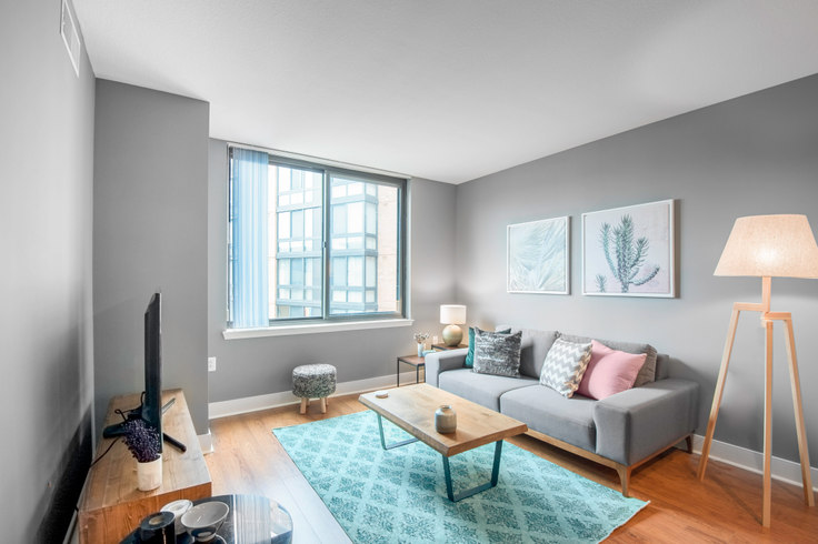 1 bedroom furnished apartment in Meridian at Mount Vernon Triangle, 425 L St NW 1, Mount Vernon, Washington D.C., photo 1